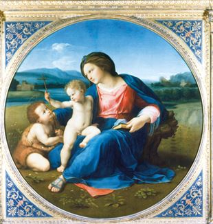 Raffael, Alba-Madonna, um 1510, National Gallery of Art, Washington, D.C.  ©Francis G. Mayer/Corbis/VCG über Getty Images